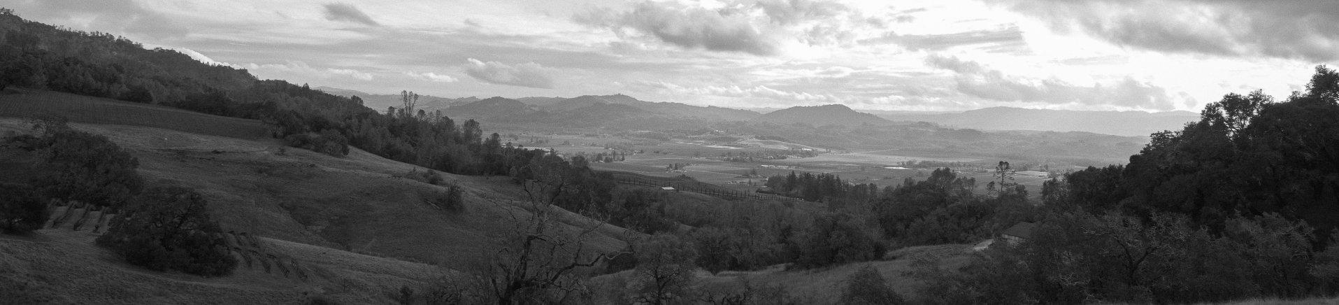 Alexander Mountain Estate is a 5,100-acre site in the Mayacamas mountain range, at Alexander Valley's eastern edge.